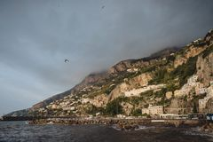 Amalfi Kustmeningen royalty-vrije stock foto's