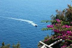 Amalfi kustskönhet arkivbild