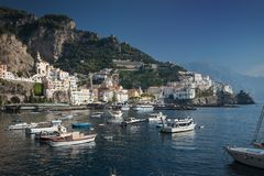 Amalfi, Salerno, Campania, Italy royalty free stock photography