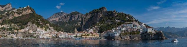 Amalfi Panorama I stock images