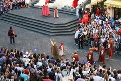 Amalfi parade Royalty Free Stock Images
