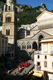Amalfi parade Royalty Free Stock Photo