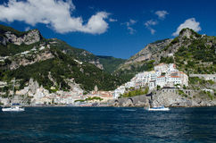 Amalfi. A picturesque village on the Tyrrhenian sea of Italy Royalty Free Stock Photo