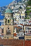 Amalfi in the province of Salerno, Campania, Italy stock photo