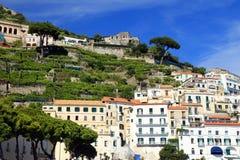Amalfi Resort, Campania, Italy stock images