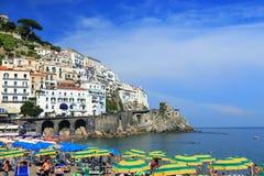 Amalfi Resort, Campania, Italy Royalty Free Stock Photography