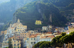 Amalfi Resort, Italy, Europe. Amalfi Resort - luxurious touristic destinationin Europe stock images