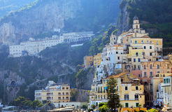 Amalfi Resort, Italy, Europe. Amalfi Resort - luxurious touristic destinationin Europe royalty free stock image