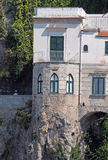 Amalfi rock house Stock Photos