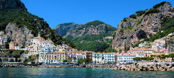 Amalfi's coast Royalty Free Stock Image