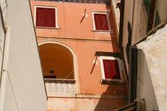 Amalfi Samenvatting Stock Afbeelding