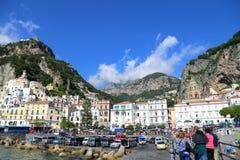 Amalfi stock image