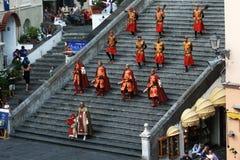 Amalfi soldiers Stock Image
