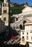 Amalfi ståtar Royaltyfri Foto