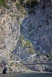 Amalfi steps Stock Images