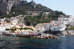 Amalfi town Stock Images