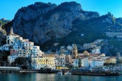 Amalfi town, Italy Royalty Free Stock Photos