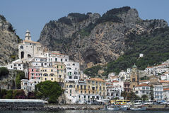 Amalfi town Italy Stock Images