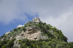 Amalfi. View of the hill in Amalfi, Italy Royalty Free Stock Photography