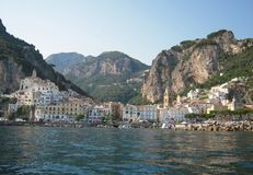 Amalfi view Stock Images
