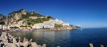 Amalfi village Royalty Free Stock Images