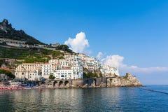 Amalfi von Süd-Italien Stockfoto