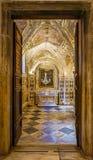 AMALFI WŁOCHY, PAŹDZIERNIK, - 14, 2017: Diecezjalny muzeum Amalfi Mus Zdjęcia Stock