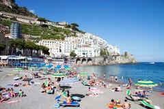 Amalfi, Włochy Obrazy Royalty Free