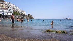 amalfi wybrzeża Włochy zbiory wideo