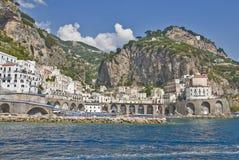 amalfi wybrzeża Włochy Zdjęcie Stock