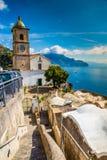 Amalfi wybrzeże - Salerno, Campania, Włochy, Europa obraz royalty free