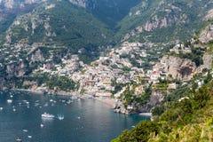 Amalfi wybrzeże w Włochy Zdjęcia Royalty Free
