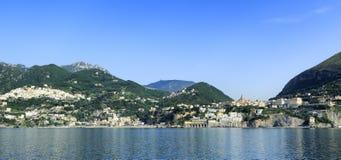 Amalfi wybrzeże Obrazy Stock