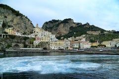 Amalfi wybrzeże Fotografia Royalty Free