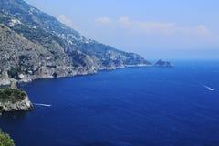 Amalfi wybrzeże Obraz Stock