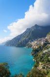 Amalfi wybrzeże - Positano Zdjęcie Stock