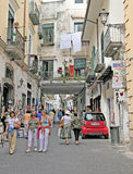 Amalfi, Italy. The town of Amalfi , Italy is a beautiful stretch of coastline on the southern coast of the Sorrentine Peninsula Royalty Free Stock Photo