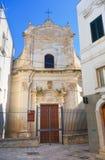 Amalfitana Church. Monopoli. Puglia. Italy. Stock Photography