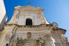 Amalfitana Church. Monopoli. Puglia. Italy. Royalty Free Stock Photos