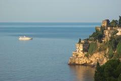 Amalfitana del litorale di Ravello immagine stock libera da diritti