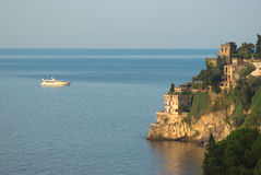Amalfitana van de kust van Ravello Royalty-vrije Stock Afbeelding