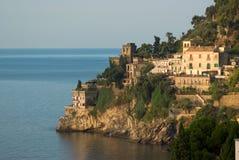 Amalfitana van de kust van Ravello Stock Foto's