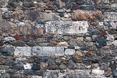 Amalgamated Stone Wall Royalty Free Stock Image