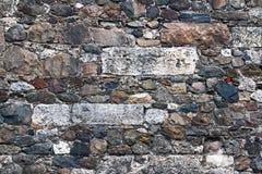 Amalgamated Stone Wall Royalty Free Stock Image