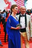 Amalia Amalia bei XXXVI internationalem Film-Festival Moskaus Stockbild