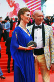 Amalia Amalia przy Moskwa Międzynarodowym Ekranowym festiwalem XXXVI Obraz Stock