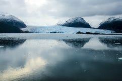 Amalia Glacier Landscape Fotografia Stock Libera da Diritti