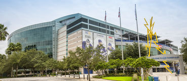 Amalie Arena. The home venue of NHL's Tampa Bay Lightning Stock Photo