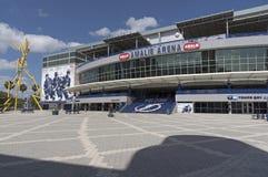 Amalie Arena in FL de V.S. van Tamper Stock Afbeelding