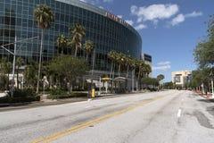 Amalie Arena nella Florida U.S.A. di Tampa fotografia stock libera da diritti